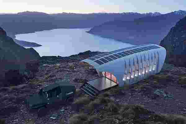 看看这个超酷的可持续3d打印房屋和汽车组合