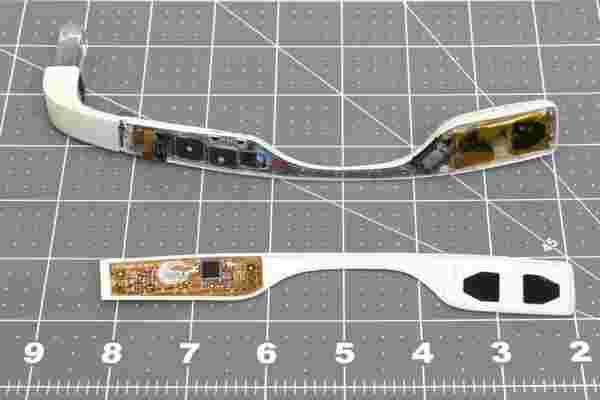 查看经过改造的Google Glass